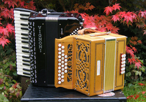 Melodeon and Piano Accordion